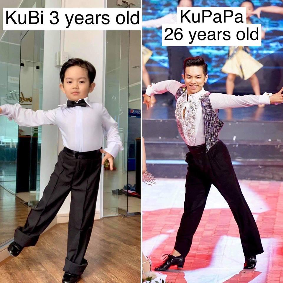 Mới ba tuổi, con trai Khánh Thi đã lên đồ và nhảy chuyên nghiệp như vũ công - Ảnh 10