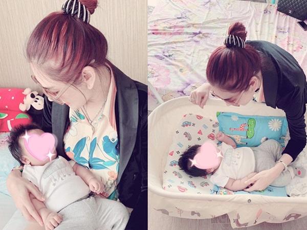 Nóng: Lâm Khánh Chi lần đầu khoe ảnh con trai mới sinh cực bụ bẫm và đáng yêu