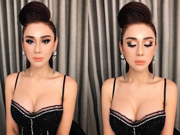 Lâm Khánh Chi khoe vòng 1 khủng hơn cả Phi Thanh Vân trong tiệc sinh nhật sang chảnh như công chúa