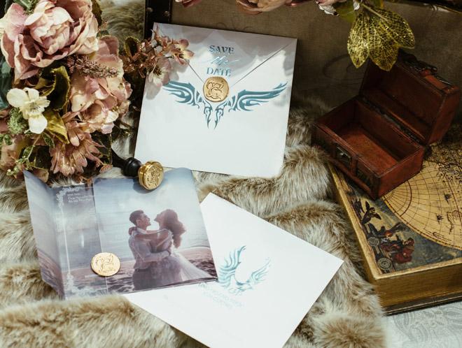 Lộ thiệp cưới cực sang trọng và tốn kém của Ưng Hoàng Phúc và người mẫu Kim Cương - Ảnh 4