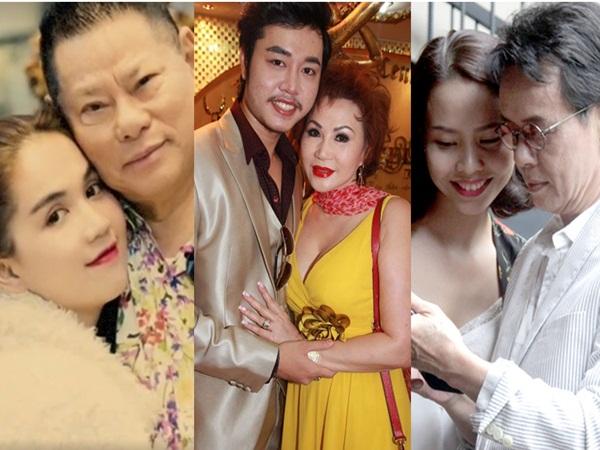 Đây là kết quả của những mối tình 'ông - cháu, bà - cháu' gây dậy sóng showbiz Việt