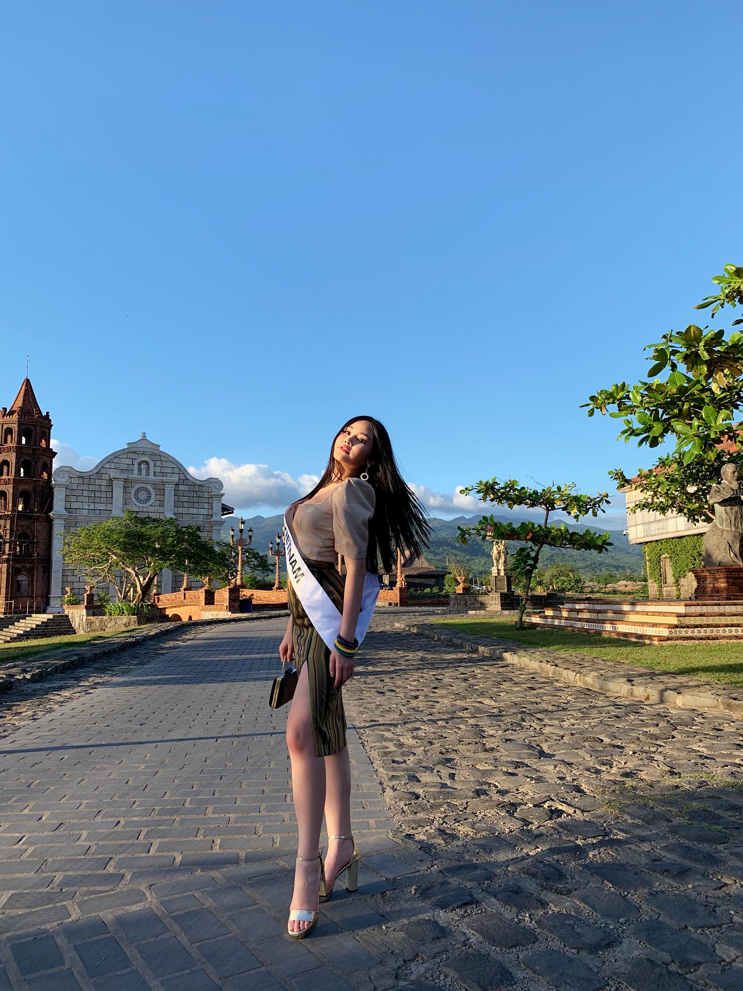 Bị khán giả trong nước ghét bỏ, Ngân Anh vẫn được các thí sinh Miss Intercontinental tổ chức sinh nhật - Ảnh 2