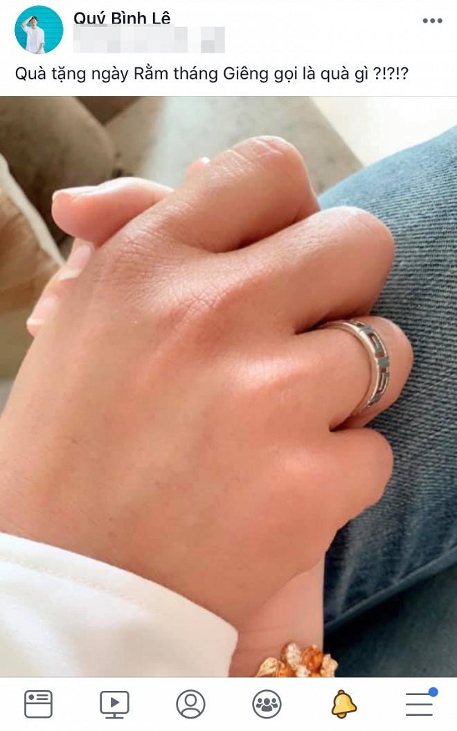 Diễn viên Quý Bình đã bí mật đính hôn và sẽ cưới vào tháng 3? - Ảnh 1