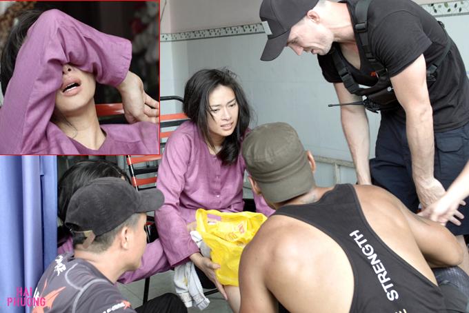 Ngô Thanh Vân bị chấn thương nghiêm trọng, nứt xương gối khi đang đóng phim - Ảnh 2