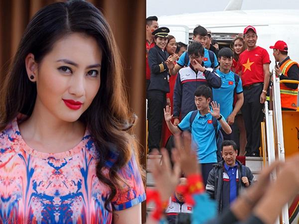 'Kiều nữ' Ngọc Lan bức xúc thay cho đội tuyển U23 Việt Nam: 'Bớt làm phiền, bớt lợi dụng mấy đứa nhỏ'