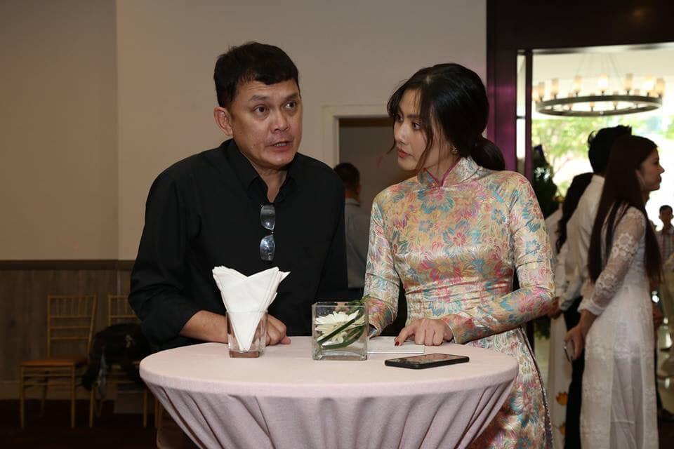 Ngọc Lan nghẹn ngào trong đám giỗ vợ chồng cố nghệ sĩ Thanh Nga - Ảnh 1