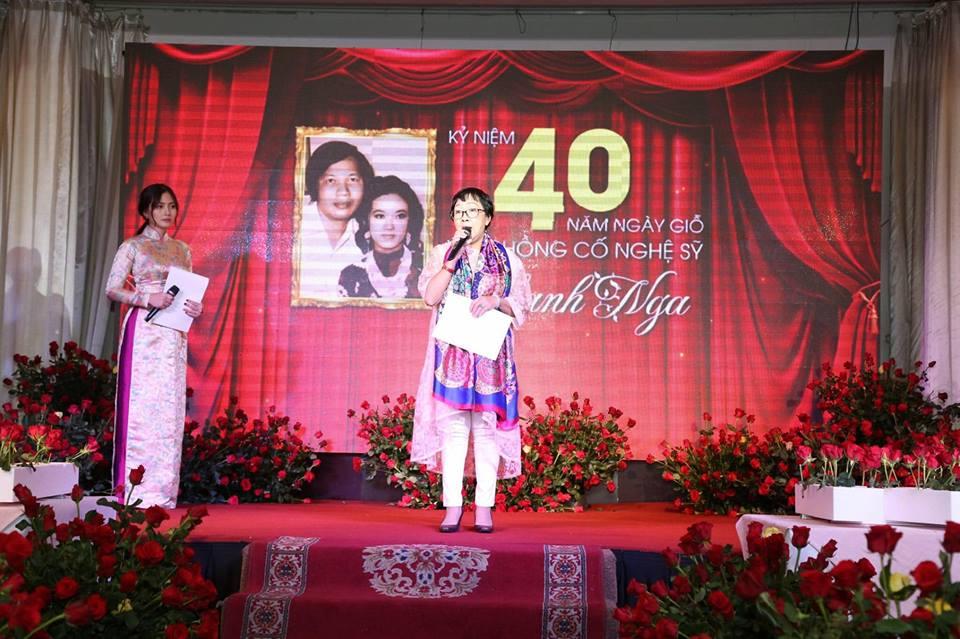 Ngọc Lan nghẹn ngào trong đám giỗ vợ chồng cố nghệ sĩ Thanh Nga - Ảnh 5