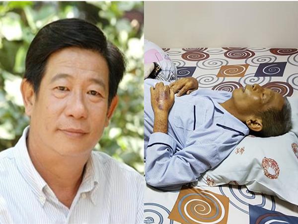 Xót xa với hình ảnh cuối cùng của diễn viên Nguyễn Hậu trước khi qua đời
