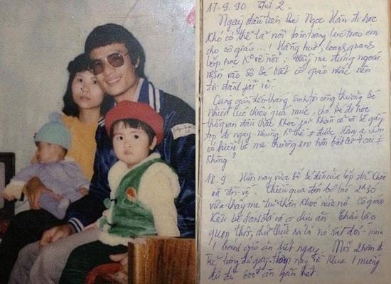 Xúc động với những trang nhật ký mẹ Hoa hậu Ngọc Hân viết cho con 28 năm về trước - Ảnh 1