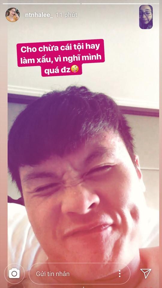 Quang Hải bất ngờ bị tung ảnh ngực trần trước thềm trận đấu với Nhật Bản - Ảnh 1