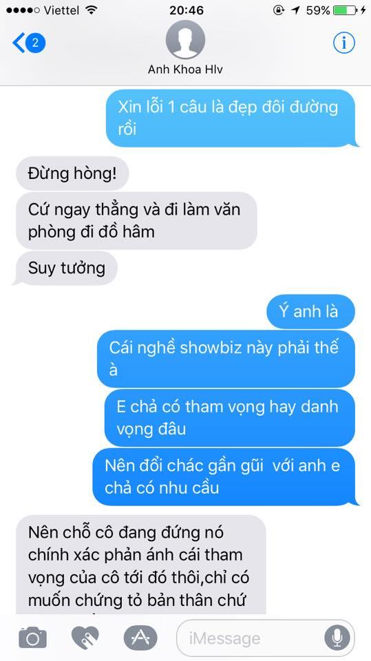 Phạm Lịch tung hết bằng chứng tố Phạm Anh Khoa gạ tình: Sốc với loạt tin nhắn khủng khiếp - Ảnh 4
