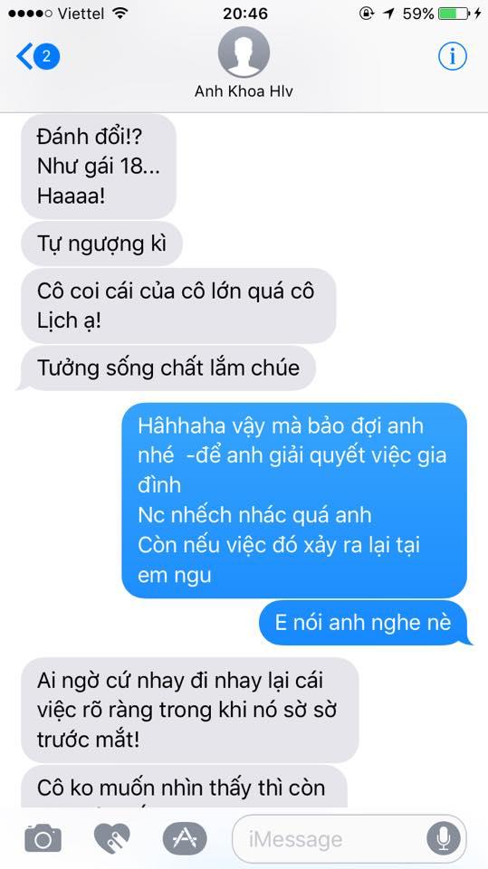 Phạm Lịch tung hết bằng chứng tố Phạm Anh Khoa gạ tình: Sốc với loạt tin nhắn khủng khiếp - Ảnh 5
