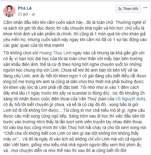Pha Lê rùng mình kể lại cái đêm Hoàng Thùy Linh bị lộ clip sex - Ảnh 4
