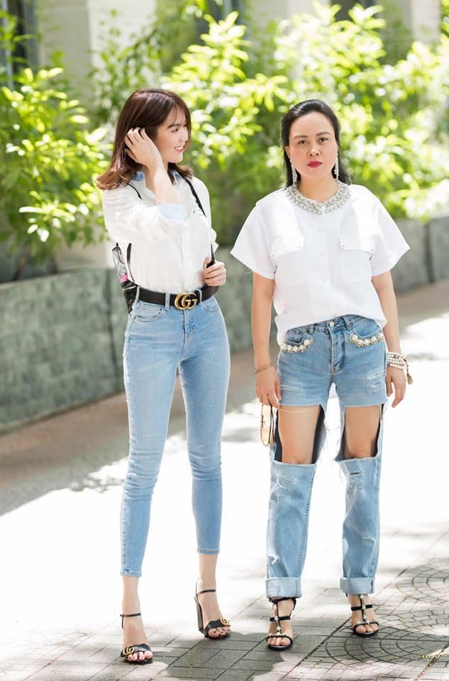 Cùng diện một kiểu quần áo nhưng sao Phượng Chanel và Ngọc Trinh lại khác nhau 'một trời một vực' thế này! - Ảnh 3
