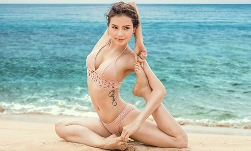 Phương Trinh Jolie đăng ảnh tập yoga nhưng ai cũng phải đỏ mặt vì điều này - Ảnh 8