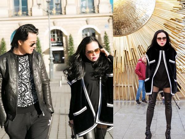 Diện mốt quần lạ dạo phố Paris, Phượng Chanel khiến Quách Ngọc Ngoan không dám rời mắt
