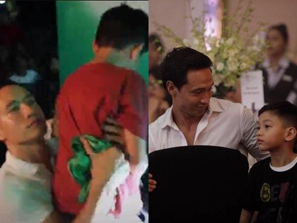 Đưa Hà Hồ đi diễn, Kim Lý có hành động này với Subeo khiến nhiều người chú ý