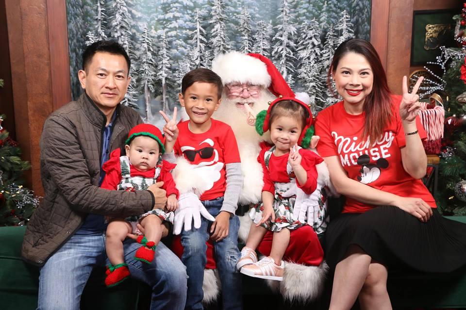 Thanh Thảo khoe ảnh hạnh phúc bên chồng và ba con trước thềm Giáng sinh - Ảnh 2