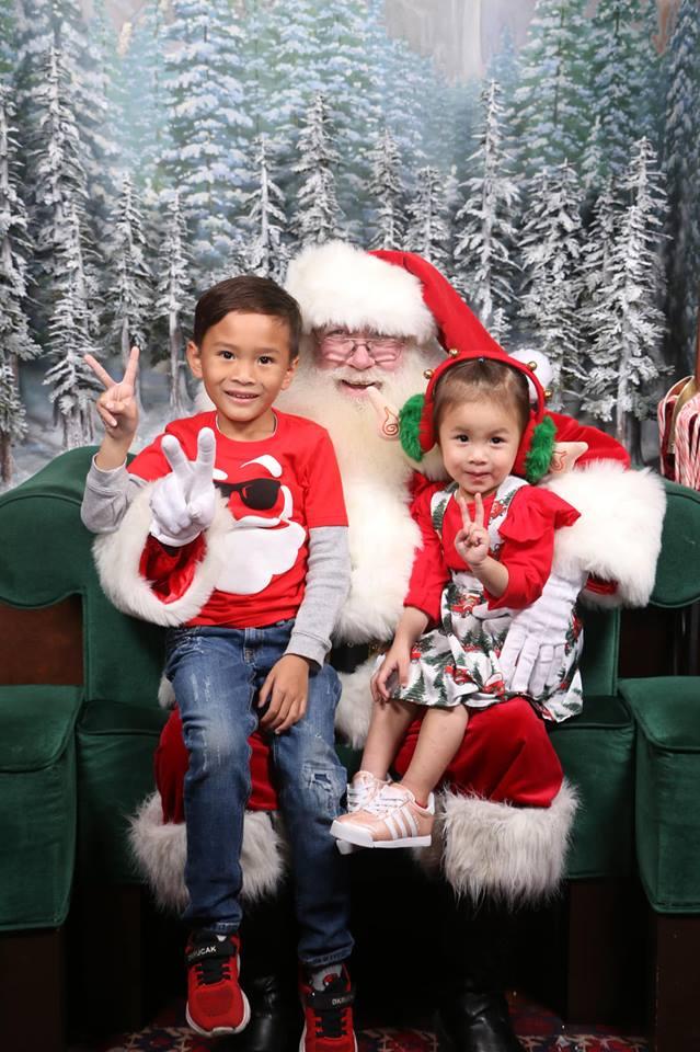 Thanh Thảo khoe ảnh hạnh phúc bên chồng và ba con trước thềm Giáng sinh - Ảnh 3