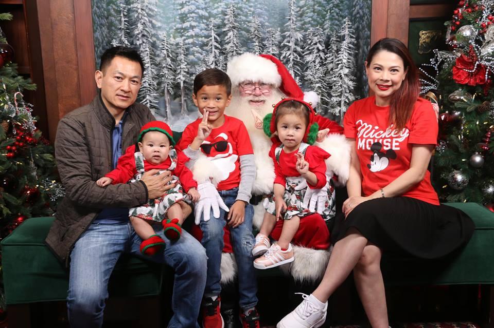 Thanh Thảo khoe ảnh hạnh phúc bên chồng và ba con trước thềm Giáng sinh - Ảnh 5