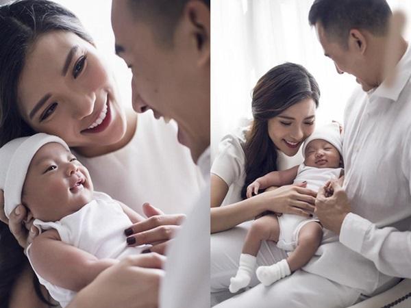 Ngắm trọn bộ ảnh đáng yêu hết nấc của gia đình Thúy Diễm - Lương Thế Thành