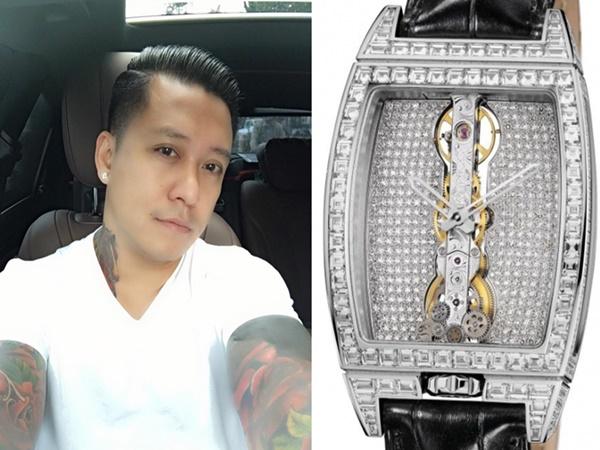 Tuấn Hưng khiến fan chóng mặt khi mua 1 chiếc đồng hồ giá bằng cả ngôi nhà