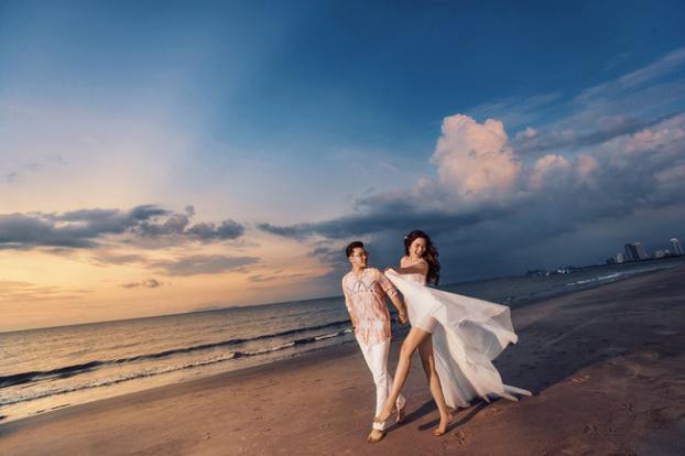 Hé lộ bộ ảnh cưới đẹp như ngôn tình của Ưng Hoàng Phúc và Kim Cương sau hai năm chung sống - Ảnh 13