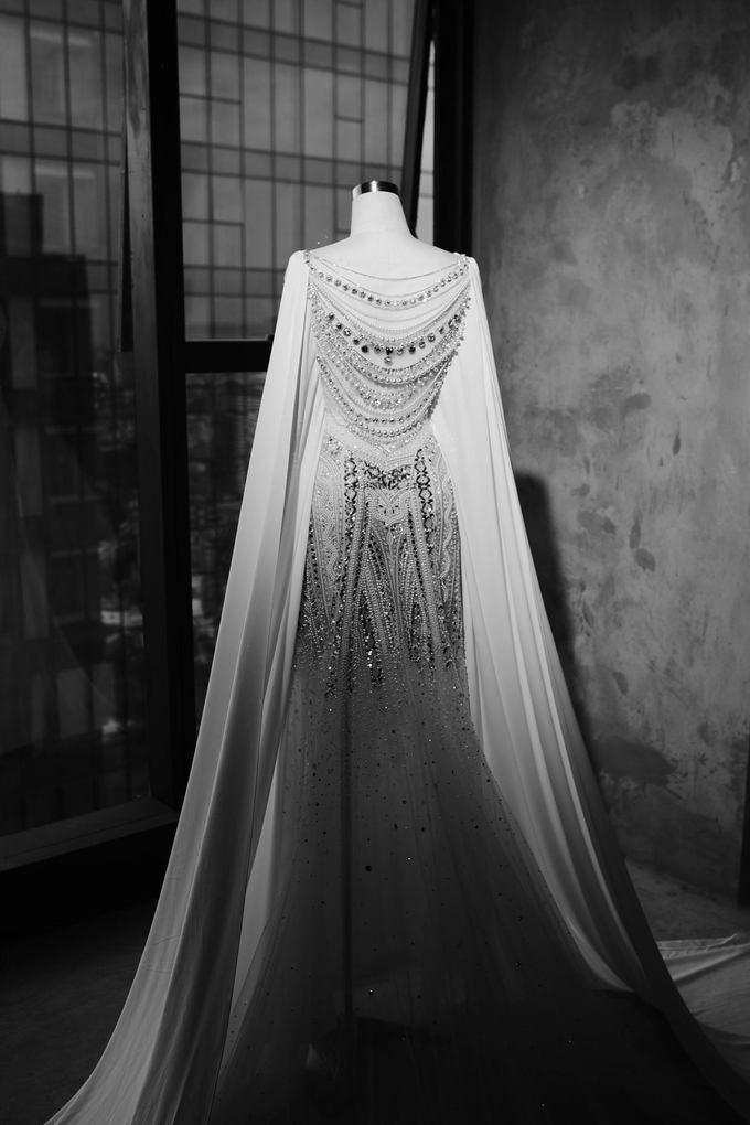 Váy cưới của Lan Khuê giá 500 triệu nhưng đây mới là điều gây choáng nhất - Ảnh 1