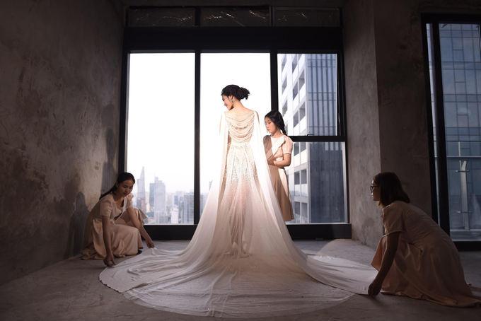 Váy cưới của Lan Khuê giá 500 triệu nhưng đây mới là điều gây choáng nhất - Ảnh 5