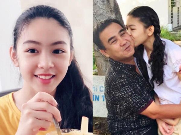 Vẻ đẹp như hot girl Thái của con gái MC Quyền Linh gây sốt trên mạng xã hội