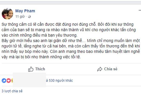 Vợ Phạm Anh Khoa cố che giấu cảm xúc, Thân Thúy Hà vô tình tiết lộ sự thật - Ảnh 2