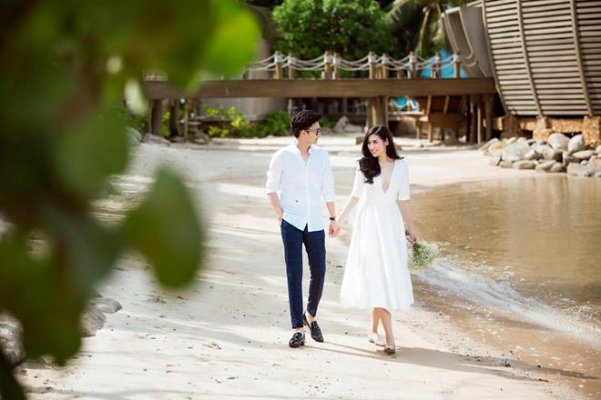 Bất chấp ồn ào với Văn Mai Hương, vợ chồng Á hậu Tú Anh tung ảnh hôn nhau đắm đuối trước thềm đám cưới - Ảnh 8