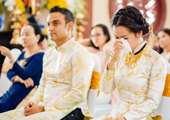 Ghen tỵ với loạt ảnh Võ Hạ Trâm đeo vàng nặng nhức cả cổ và tay trong ngày kết hôn với chồng Ấn Độ - Ảnh 9