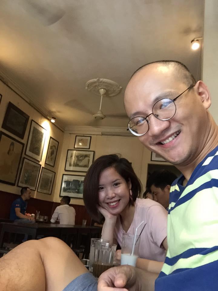 Hé lộ nhan sắc bà xã xinh như hotgirl của nhà báo Phan Đăng - Ảnh 4