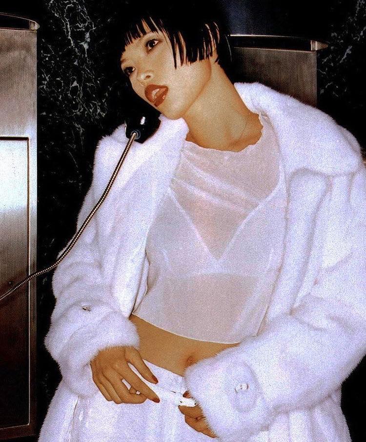 Siêu mẫu gốc Việt từng là bạn diễn của Chương Tử Di: Từ cô bé tự ti đến nàng mẫu tỏa sáng rực rỡ tại show Chanel - Ảnh 6