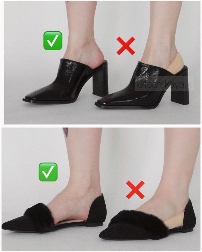 Một lỗi sai khi đi giày/sandals mà nhiều chị em không để ý, nhưng lại khiến trang phục kém sang trầm trọng - Ảnh 6