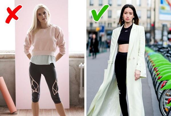 9 sai lầm phổ biến chị em thường mắc phải khi mặc quần legging - Ảnh 3