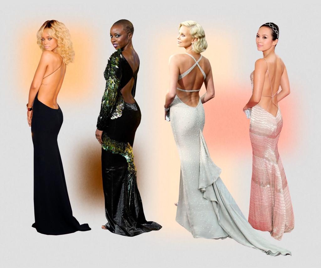 Váy hở lưng thời thượng được nhiều 'bóng hồng' săn đón bỗng trở thành thảm họa thời trang đường phố - Ảnh 7