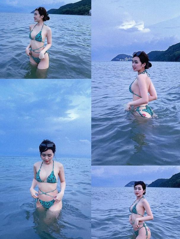 Chọn phải chiếc áo 'phản chủ', hot girl Lê Phương Anh bất ngờ khi vòng 1 'đi chơi xa' trong livestream mới nhất  - Ảnh 2