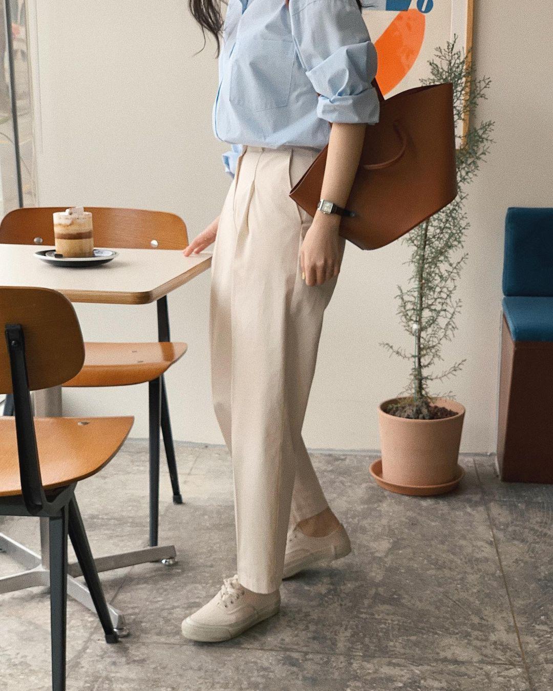 5 mẫu giày dép gái Hàn đang chuộng mix với quần âu để sang chảnh hóa cả set đồ công sở - Ảnh 1