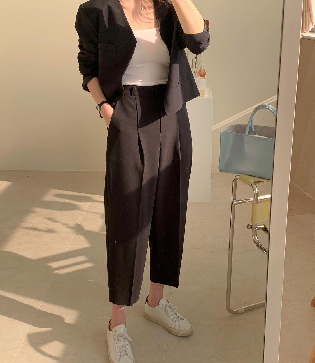 5 mẫu giày dép gái Hàn đang chuộng mix với quần âu để sang chảnh hóa cả set đồ công sở - Ảnh 2