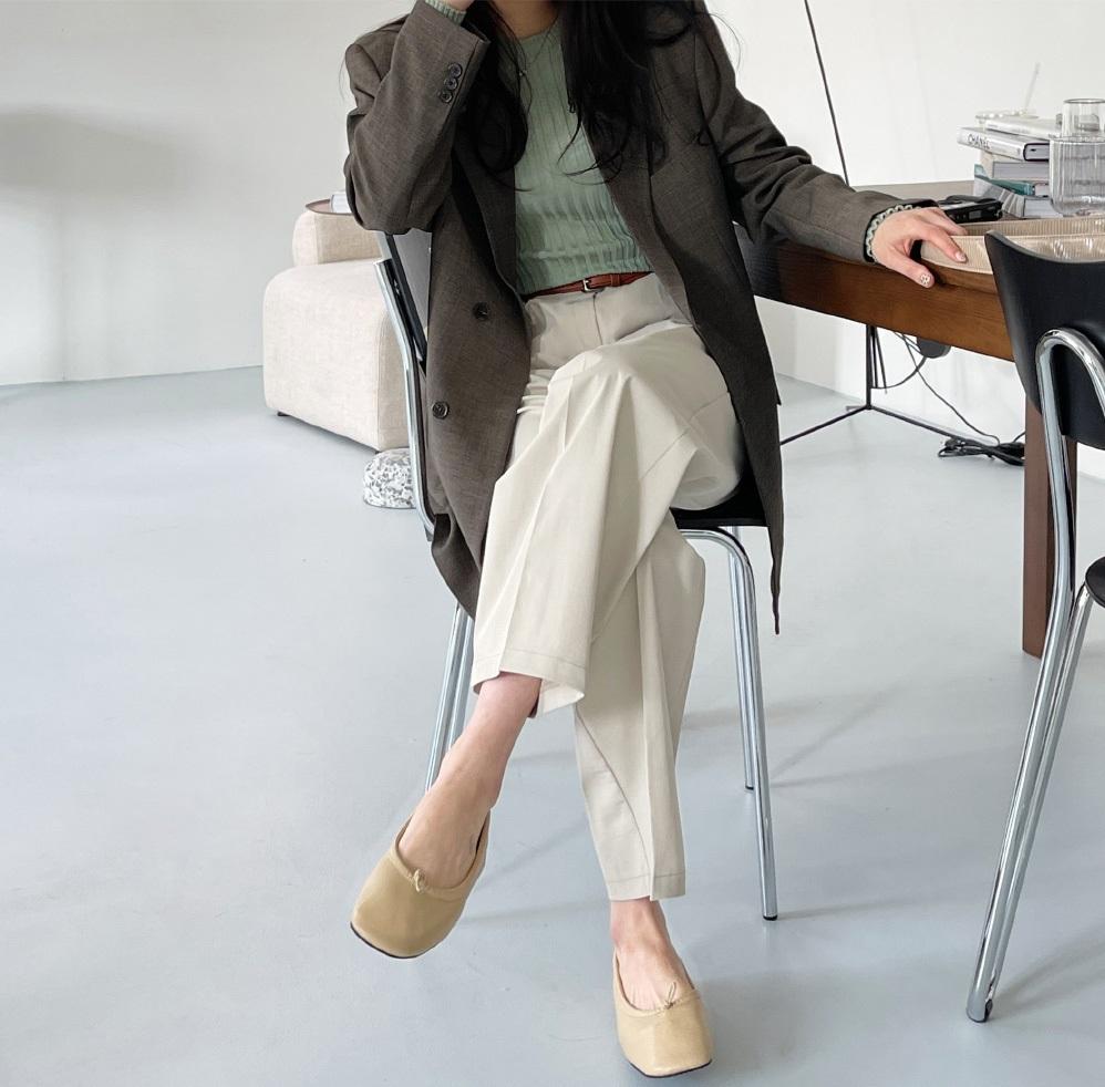 5 mẫu giày dép gái Hàn đang chuộng mix với quần âu để sang chảnh hóa cả set đồ công sở - Ảnh 5