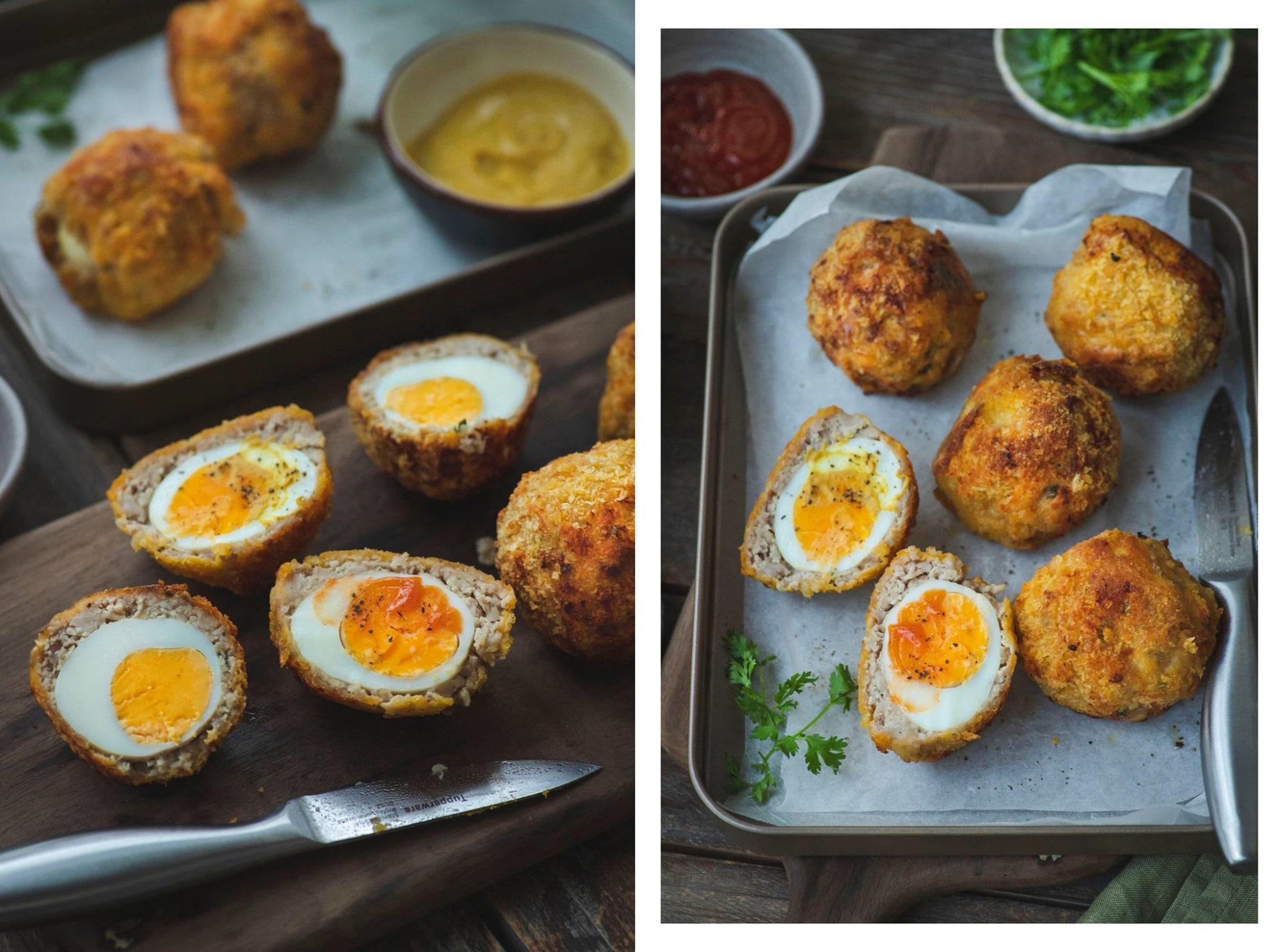 Bắt 'trend' làm mau món 'trứng dã ngoại': Béo tròn núc ních, bên ngoài giòn rụm, bên trong ngọt mềm, ăn cơm ăn chơi đều xuất sắc - Ảnh 8