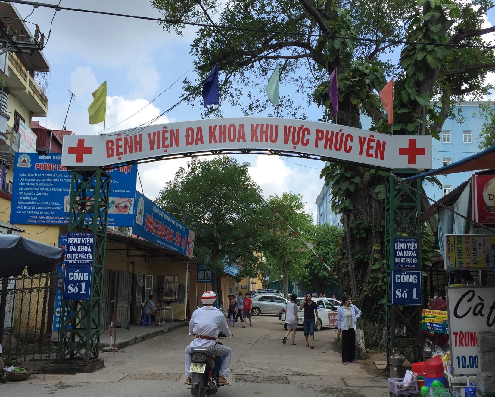 Bệnh viện đa khoa khu vực Phúc Yên: Có 14 nhân viên y tế từng đến quán Bar Sunny