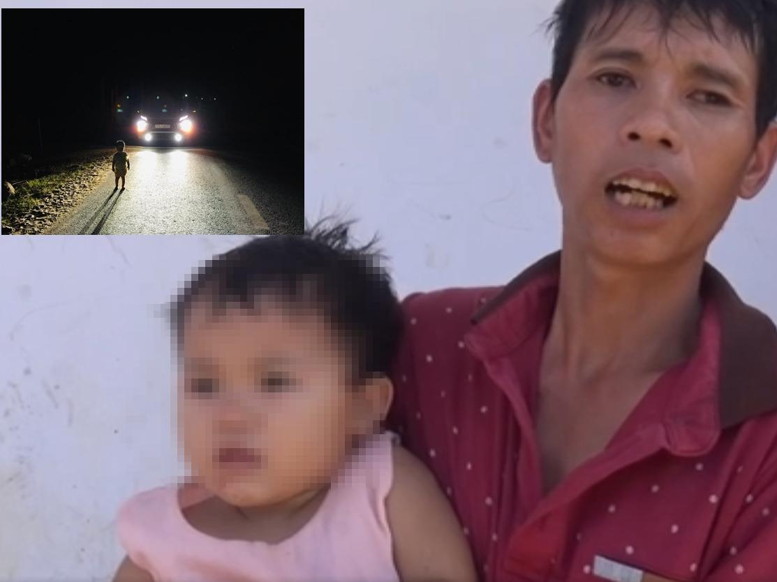 Cha của bé gái 2 tuổi đi lang thang lúc 1h sáng: 'May quá, con tôi được anh Trường gặp và tìm đến tận nhà để gửi lại cháu cho vợ tôi'