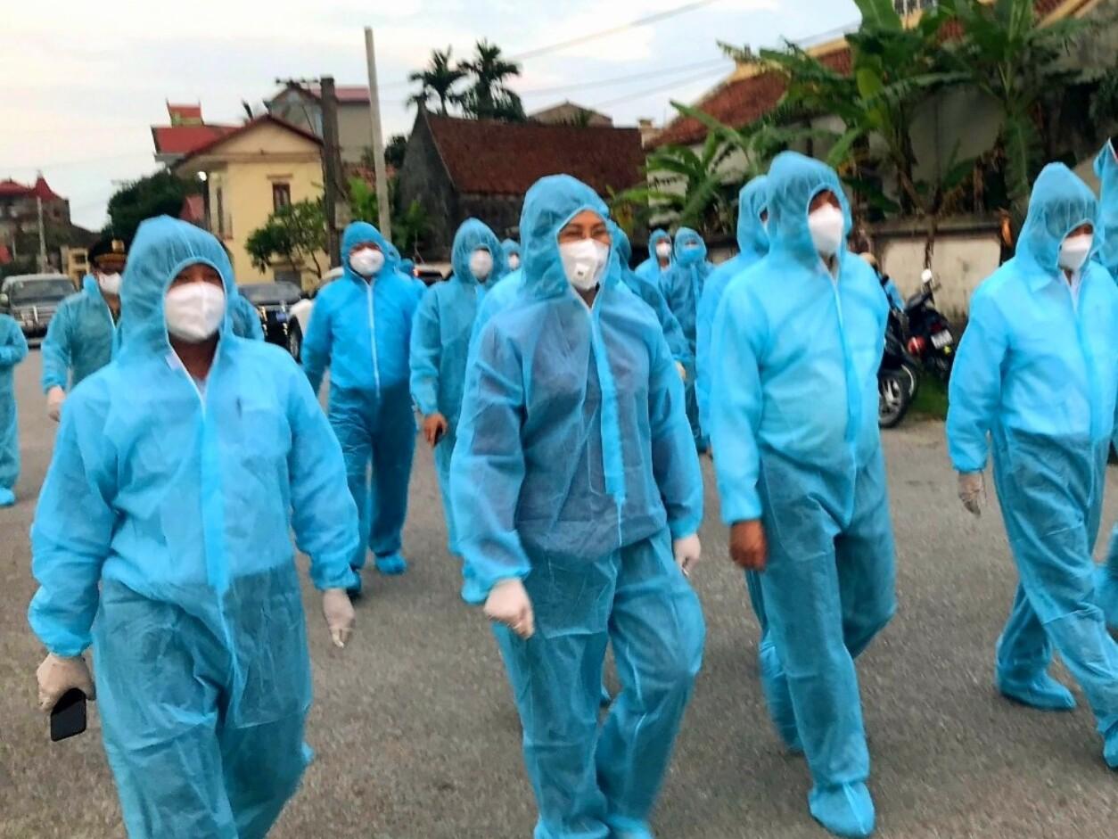 Nóng: Ngày 8/5, Bắc Ninh phát hiện thêm 17 ca dương tính với Covid-19