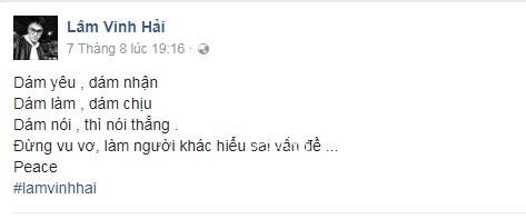 Linh Chi viết status ẩn ý, được cho là 'đá xoáy' vợ cũ Lâm Vinh Hải - Ảnh 4