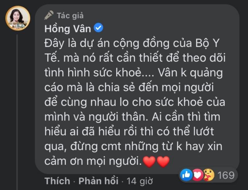 Bị khán giả đề nghị cấm sóng vĩnh viễn, NSND Hồng Vân lập tức phản hồi: 'Vân không biết mình làm gì sai?' - Ảnh 2