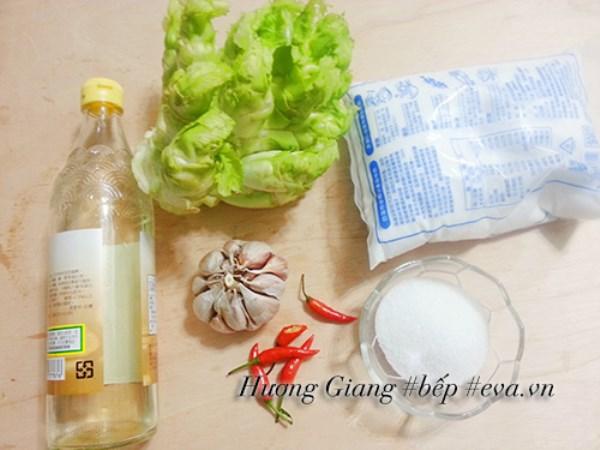 Rau mầm đá muối chua cay ngọt dễ ăn ngày Tết - Ảnh 1