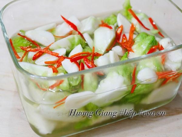 Rau mầm đá muối chua cay ngọt dễ ăn ngày Tết - Ảnh 4
